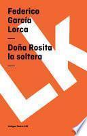 Libro de Doña Rosita La Soltera