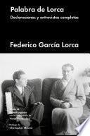 Libro de Palabra De Lorca