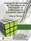 Libro de Evaluación De Servicios De Tecnologías De Información En Instituciones De Educación Superior