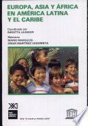 Libro de Europa, Asia Y Africa En América Latina Y El Caribe