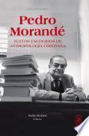 Libro de Pedro Morandé. Textos Escogidos De Antropología Cristiana