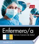 Libro de Enfermero/a. Servicio Canario De Salud. Temario Vol. Iii