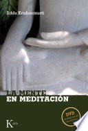 Libro de La Mente En Meditación