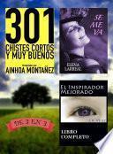Libro de 301 Chistes Cortos Y Muy Buenos + Se Me Va + El Inspirador Mejorado