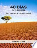 Libro de 40 Días En El Desierto