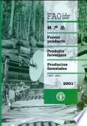 Libro de Anuario Fao De Productos Forestales 2001