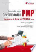 Libro de Preparación Para La Certificación Pmp