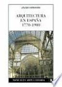 Libro de Arquitectura En España, 1770 1900
