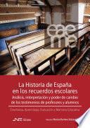 Libro de La Historia De España En Los Recuerdos Escolares