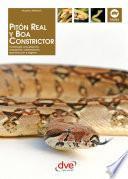 Libro de PitÓn Real Y Boa Constrictor