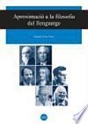Libro de Aproximació A La Filosofia Del Llenguatge