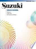 Libro de Suzuki Violin School