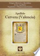 Libro de Apellido Cervera (valencia)