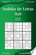 Libro de Sudoku De Letras 9×9   Experto   Volumen 9   276 Puzzles