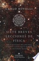 Libro de Siete Breves Lecciones De Física