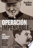 Libro de OperaciÓn «impensable»