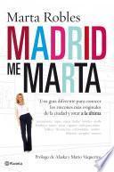 Libro de Madrid Me Marta