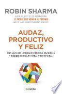 Libro de Audaz, Productivo Y Feliz