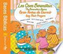Libro de Los Osos Berenstain Oran Antes De Dormir / Say Their Prayers
