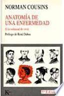 Libro de Anatomía De Una Enfermedad O La Voluntad De Vivir
