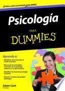 Libro de Psicología Para Dummies
