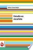 Libro de Estudio Escarlata (low Cost). Edición Limitada