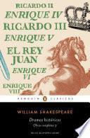 Libro de Dramas Históricos (obra Completa Shakespeare 3)