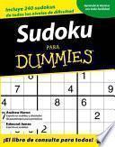 Libro de Sudoku Para Dummies