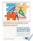 Libro de Matemáticas Aplicadas A Las Ciencias Sociales