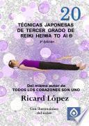 Libro de Técnicas Japonesas De Tercer Grado De Reiki Heiwa To Ai ®