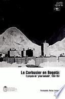 Libro de Le Corbusier En Bogotá