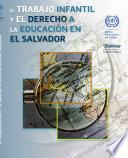 Libro de El Trabajo Infantil Y El Derecho A La Educación En El Salvador