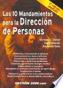 Libro de Los 10 Mandamientos Para La Dirección De Personas