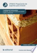 Libro de Preparación De Soportes Para Revestir. Eocb0209