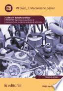 Libro de Mecanizado Básico. Tmvg0109