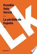Libro de La Pérdida De España