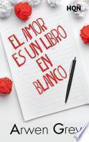 Libro de El Amor Es Un Libro En Blanco