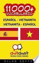 Libro de 11000+ Español   Vietnamita Vietnamita   Español Vocabulario