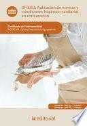 Libro de Aplicación De Normas Y Condiciones Higiénico Sanitarias En Restauración. Hotr0109