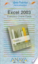 Libro de Excel Dos Mil Tres