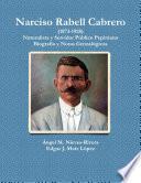 Libro de Narciso Rabell Cabrero (1873 1928)