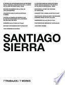 Libro de Santiago Sierra