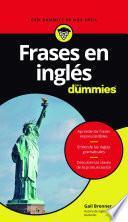 Libro de Frases En Inglés Para Dummies