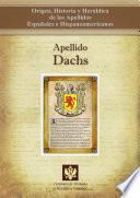 Libro de Apellido Dachs