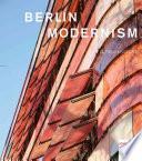 Libro de Berlin Modernism