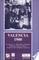 Libro de Valencia, 1900