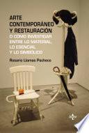 Libro de Arte Contemporáneo Y Restauración