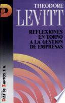 Libro de Reflexiones En Torno A La Gestión De Empresas