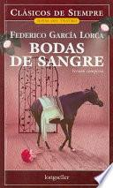 Libro de Bodas De Sangre / Blood Wedding