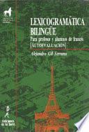 Libro de Lexicogramática Bilingüe